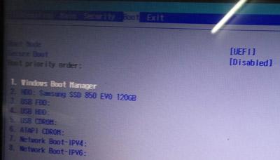 宏碁笔记本关闭安全启动的操作方法